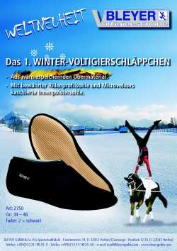 BLEYER 2750 THERMO Winter Voltigierschuhe